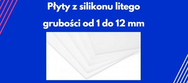 płyty z litego silikonu