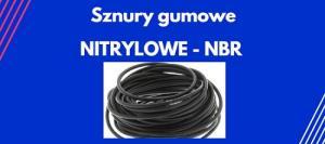 sznury gumowe nitrylowe NBR