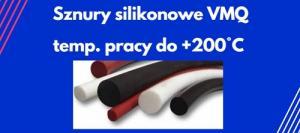 sznury silikonowe VMQ