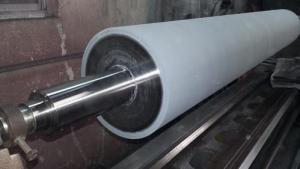 Pokrywanie wałków silikonem
