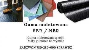guma moletowana