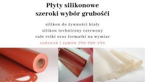 grubość gumy silikonowej