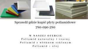 Gdzie kupić płyty poliamidowe PA 6 ?
