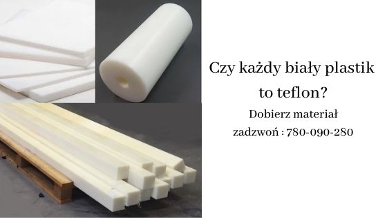 biały plastik